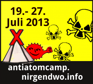 Anti-Atom-Camp Münsterland 19.–27. Juli 2013